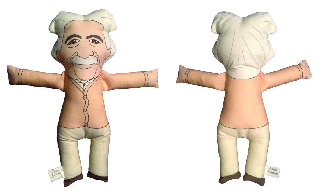 Albert Einstein Plush Doll
