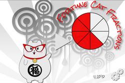 Fortune Cat Fractions Start Screen