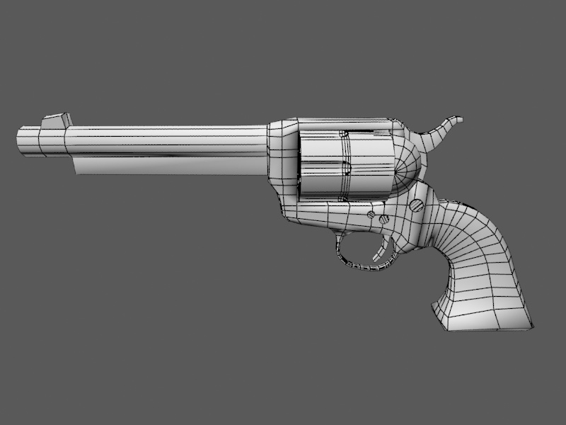 Revolver Wireframe