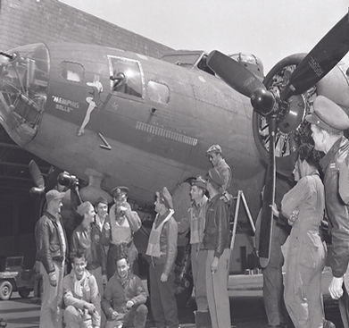 The Memphis Belle B17 Flying Fortress
