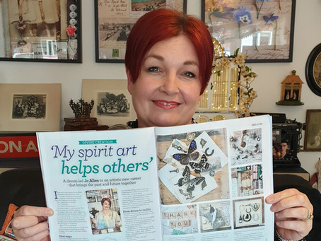 My gifts are Featured in Spirit and Destiny magazine, July 2019