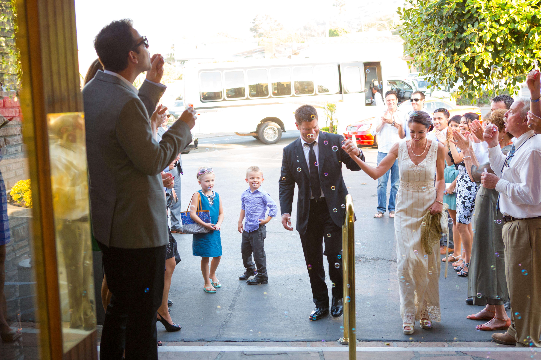 Grand Entrance, Wedding Reception