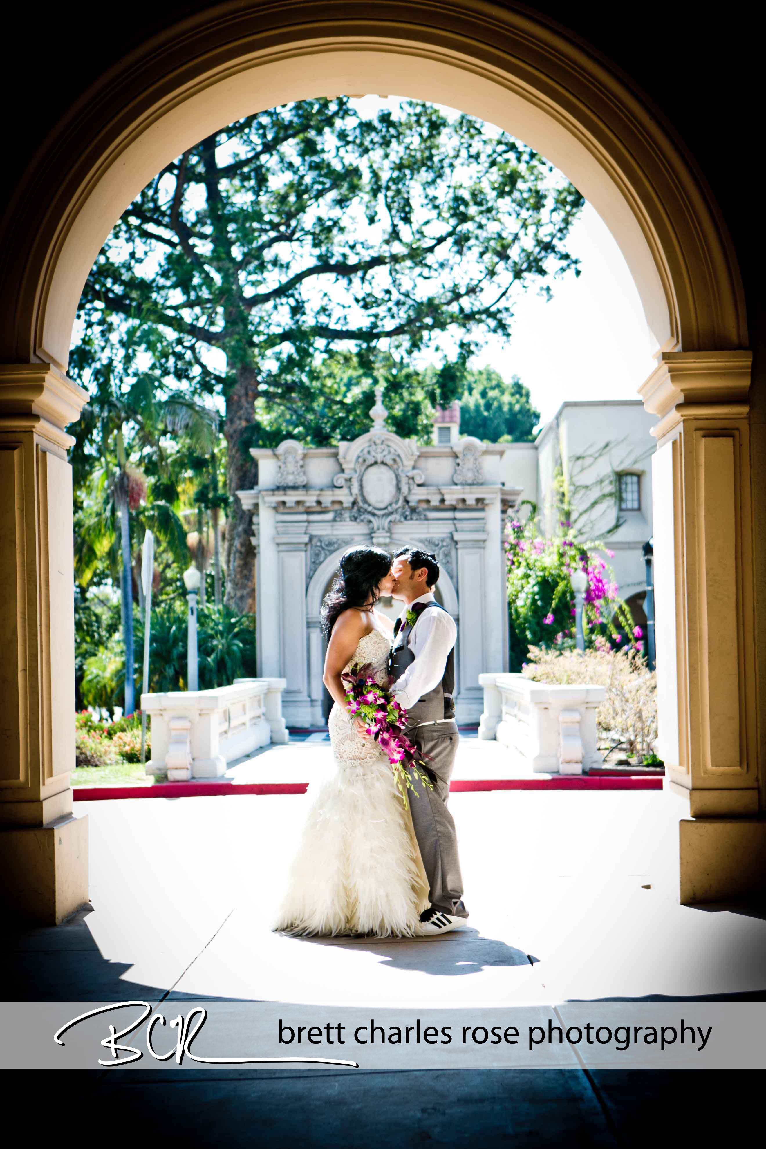 Balboa Park, Prado weddings