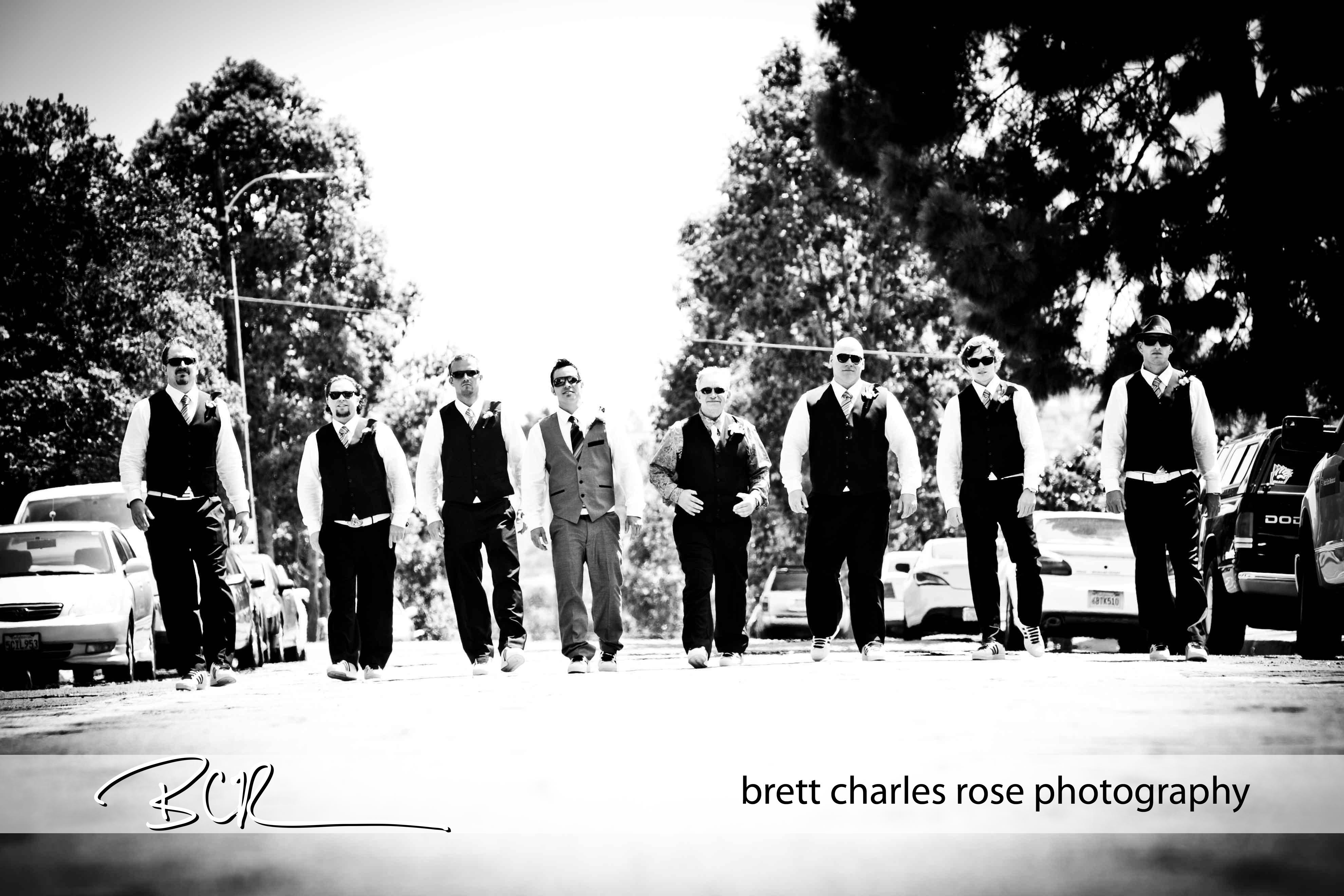 Balboa park, grooms party