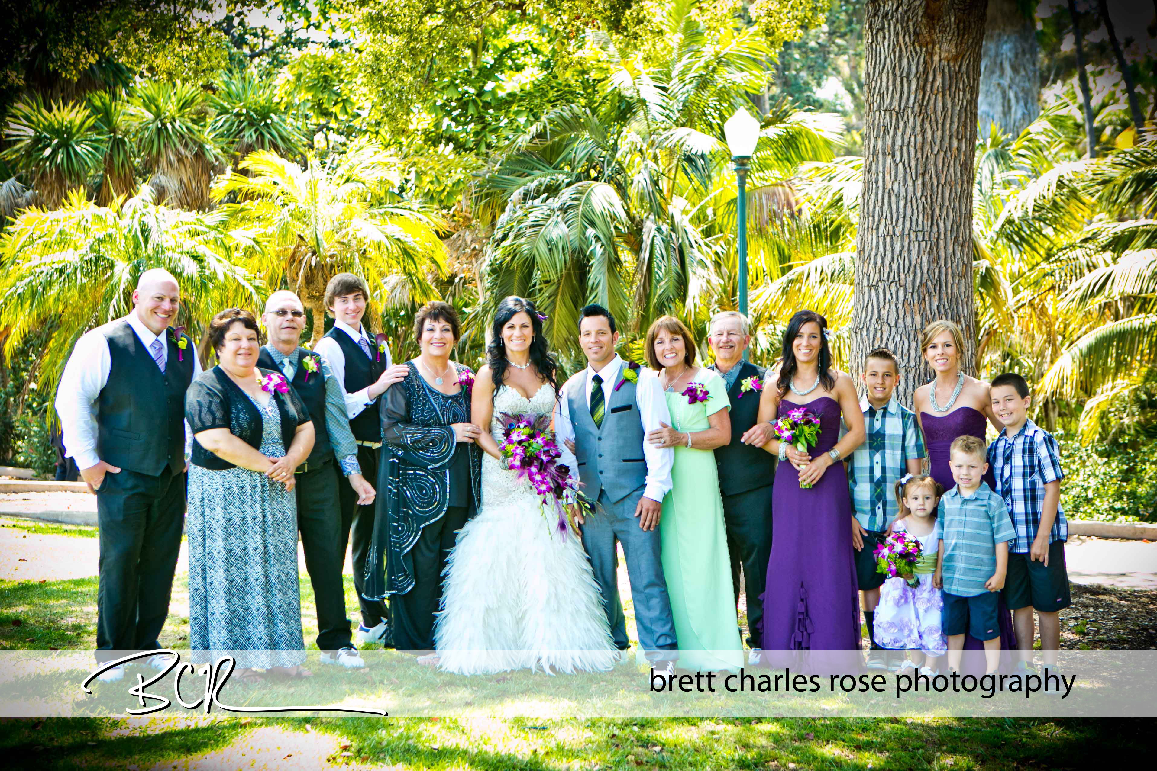 fun bridal party photos, family phot