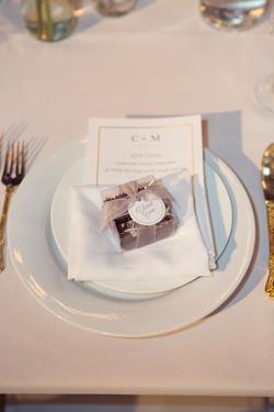 Wedding favors, wedding menu