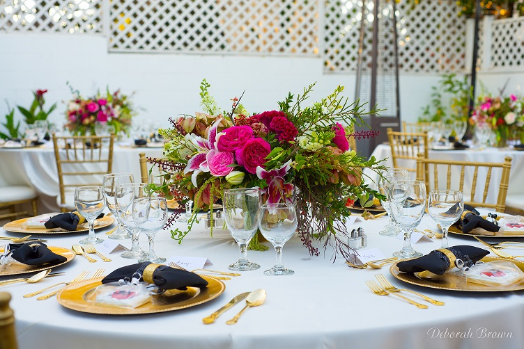 Bright floral, anniversary party