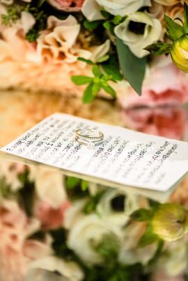 Carmel Mountain Ranch Estate wedding, wedding details, wedding vows, San Diego wedding