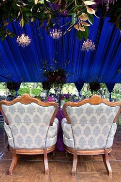 vintage chairs, vintage wedding