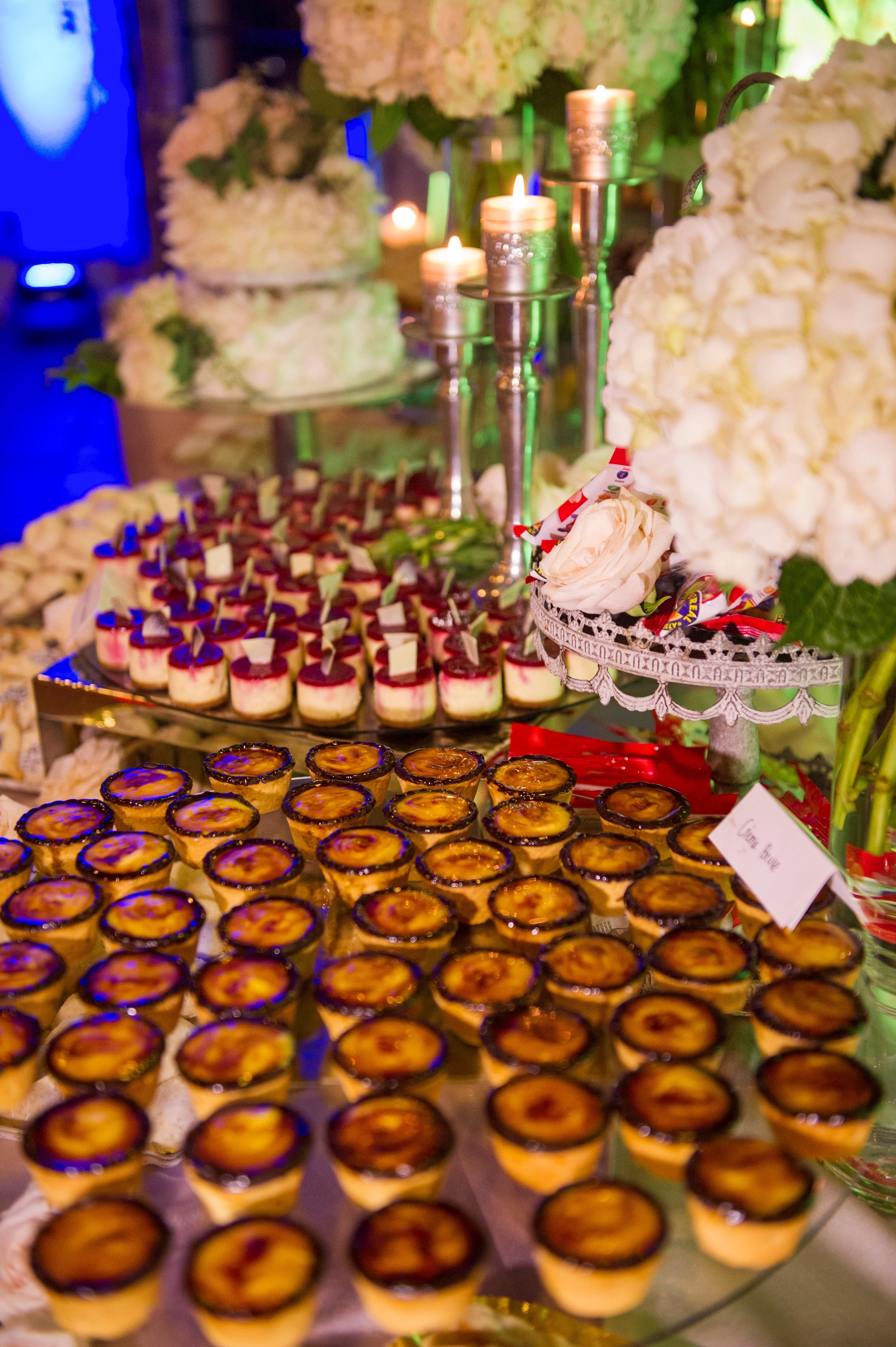 Dessert bar, wedding desserts