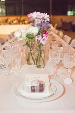 White wedding, blush wedding colors