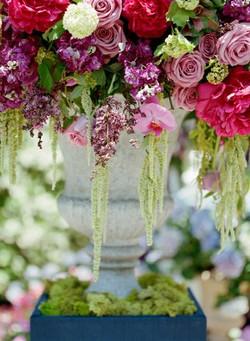 garden floral, wedding floral