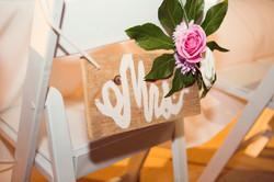 Custom Wedding Signage, mr. and mrs.