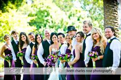 Wedding Party, fun wedding party pho