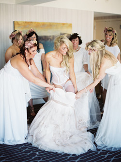 Bridal undergarments, white