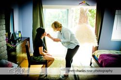 Wedding hair, wedding makeup