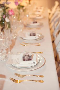 Wedding favors, wedding reception