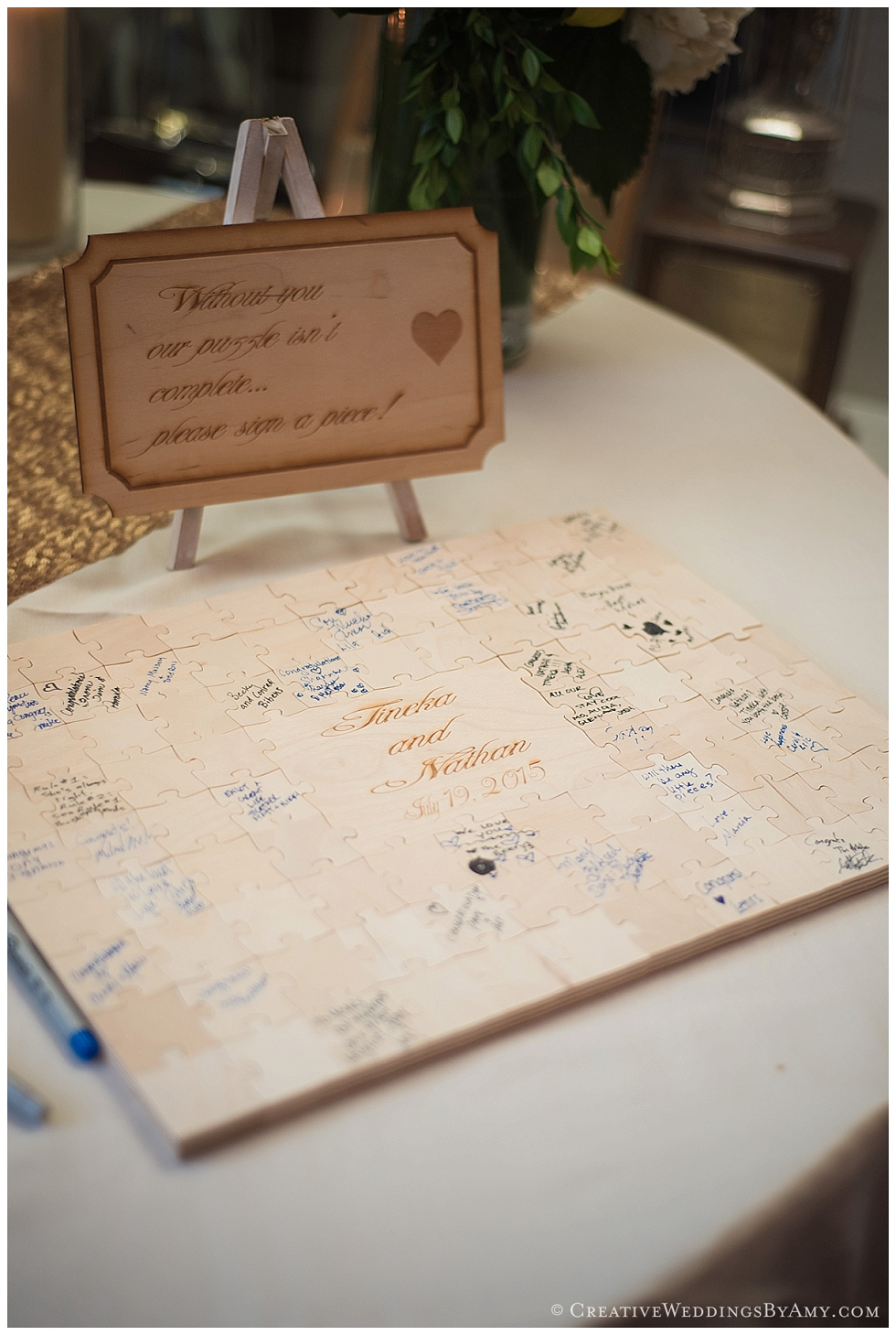 custom guest book ideas