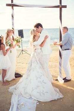 wedding ceremony, sunset cliffs