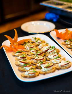Event catering,tray passed appetizer