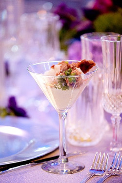 Custom wedding menus, 24 Carrot Cate