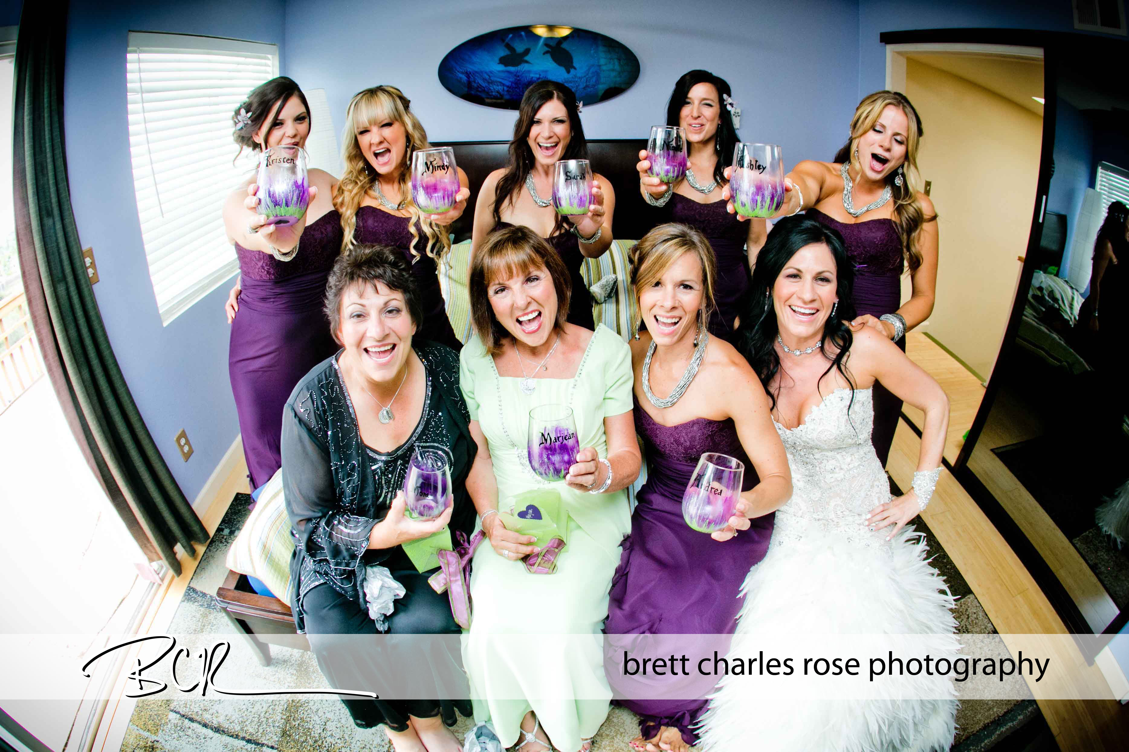 Bridesmaid photos, fun poses