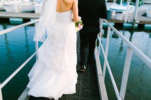 Coronado Yacht Club: Waterfront Wedding: Leslie & Andrew