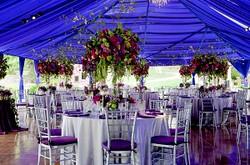 Unique wedding floral, wedding recep