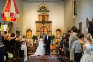 Mission de Alcala - Rancho Santa Fe Wedding: Nadia & Brian