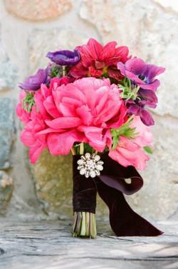 unique wedding flowers, large floral