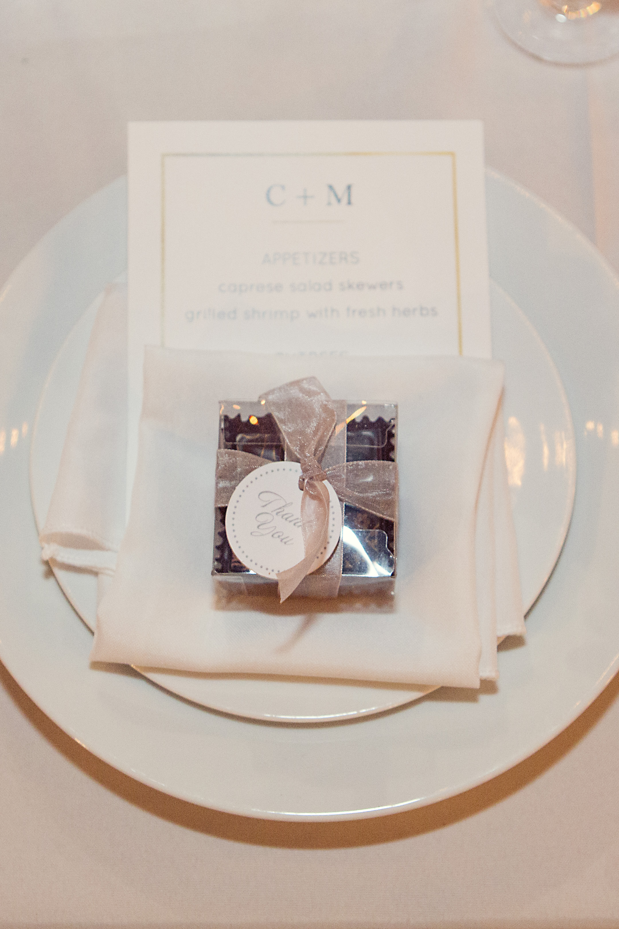 Wedding favors, Chuao Chocolatier