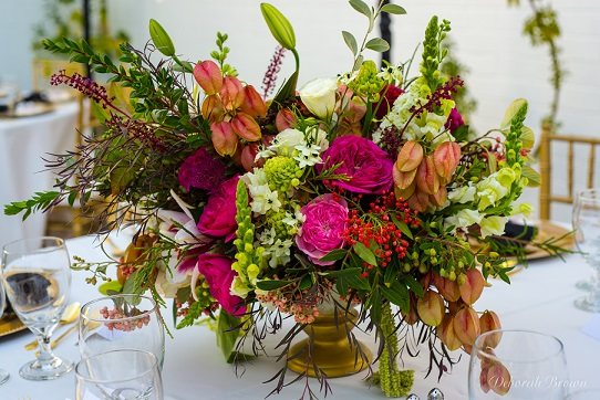 Type A Soiree, Event Flowers