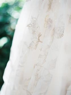 blush wedding dress, bridal gown