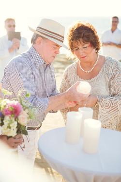 Wedding candles, LED candles