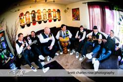 Groomsmen, wedding prep