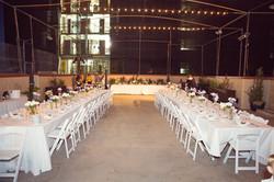Wedding Reception, rooftop wedding