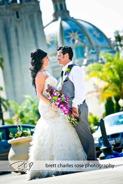 Type A Soiree, Balboa Park Wedding