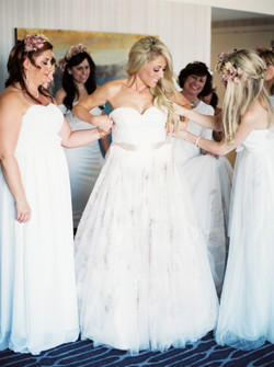 White flower bridal boutique