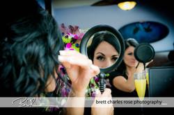 Bridal prep photos, wedding hair