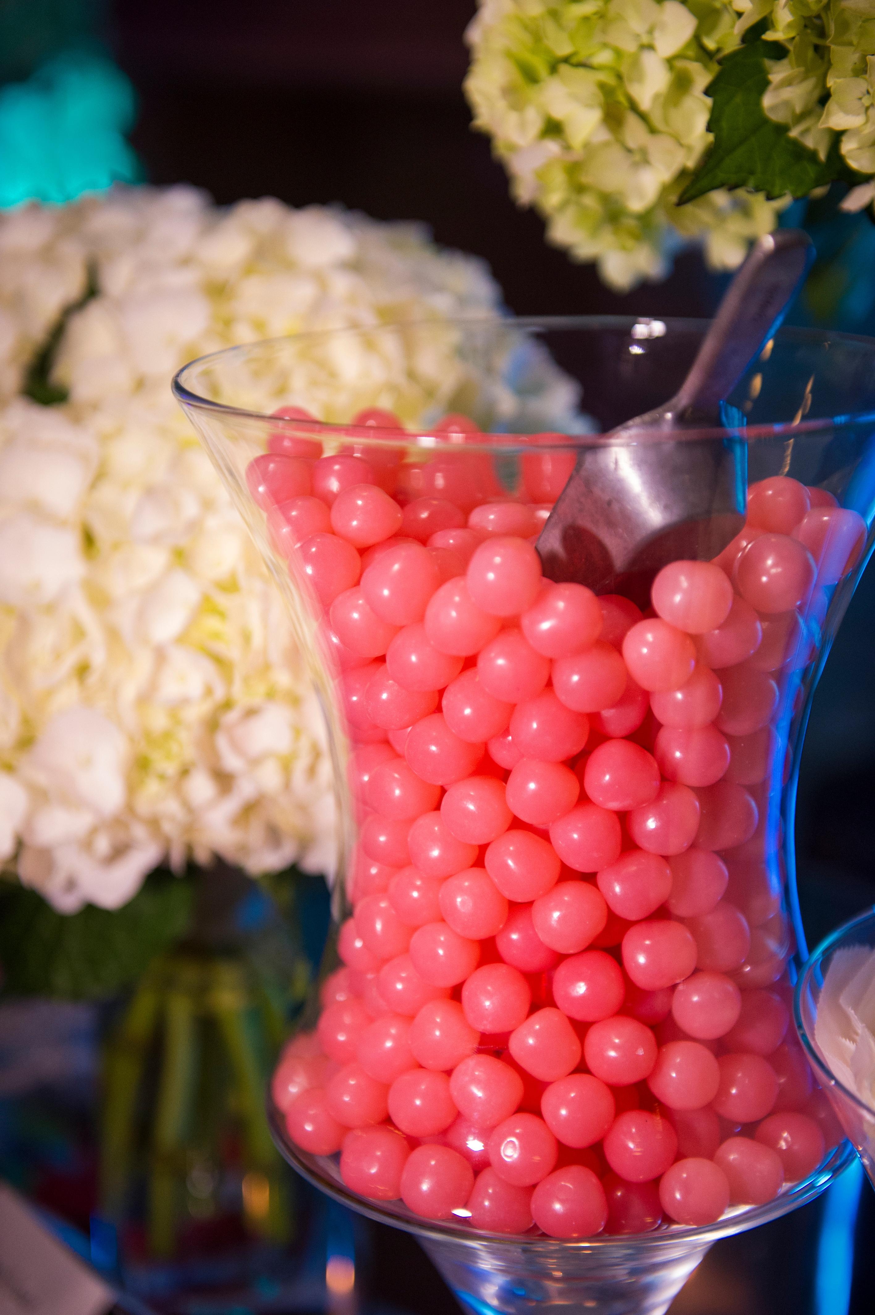 Candy buffet, wedding dessert bar