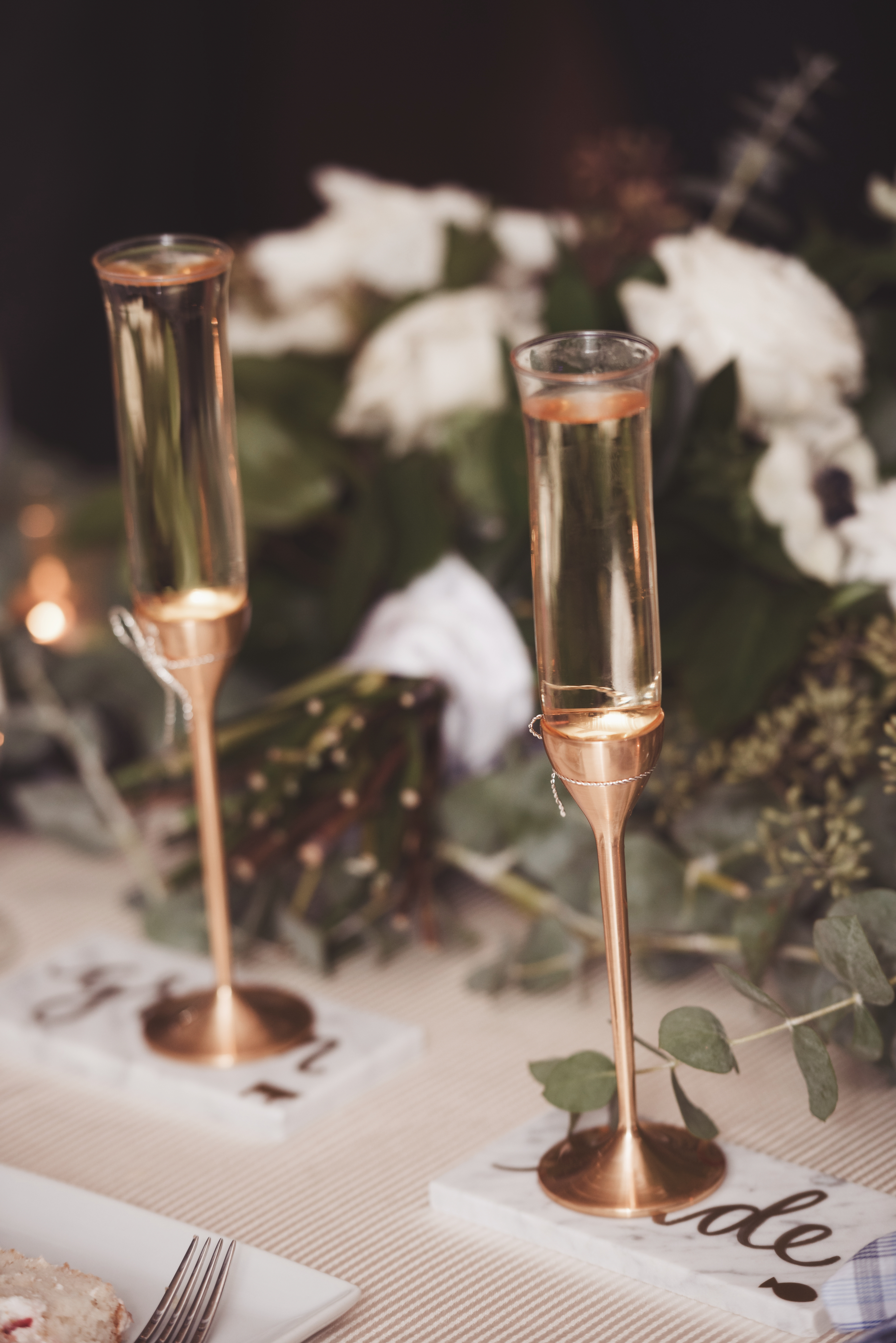Wedding details by Type A Soiree