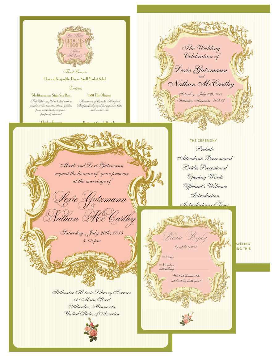 McCarthy Wedding Collateral