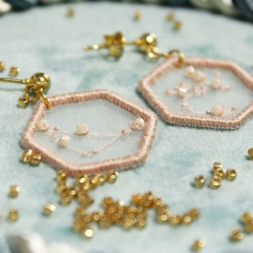 ML Embroidery 星座刺繡耳環
