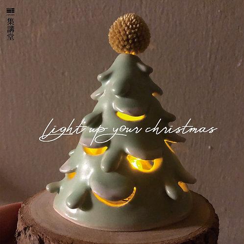 冬日的祝福 手捏陶藝