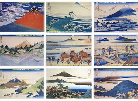 浮世繪:紀錄世間風情萬物的大師們