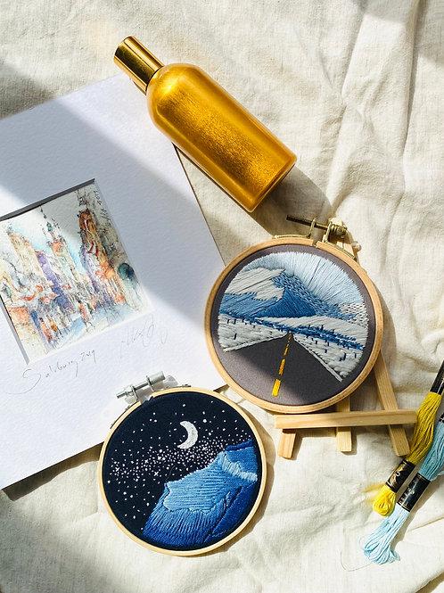ML Embroidery 初級刺繡課程 (1 & 2)