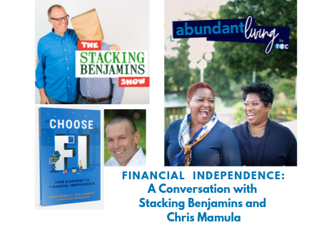 Financial Independence: Co-Hosting the Stacking Benjamins Podcast