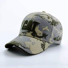 6-Panel Cotton Camo Hat