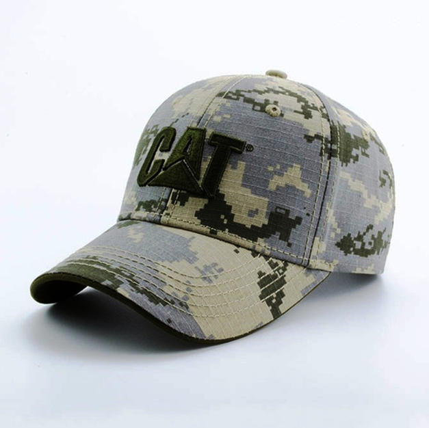 6-Panel Cotton Camo Hat