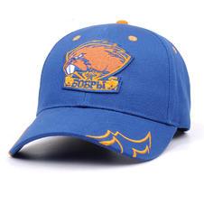 6-Panel Cotton Hat Blue